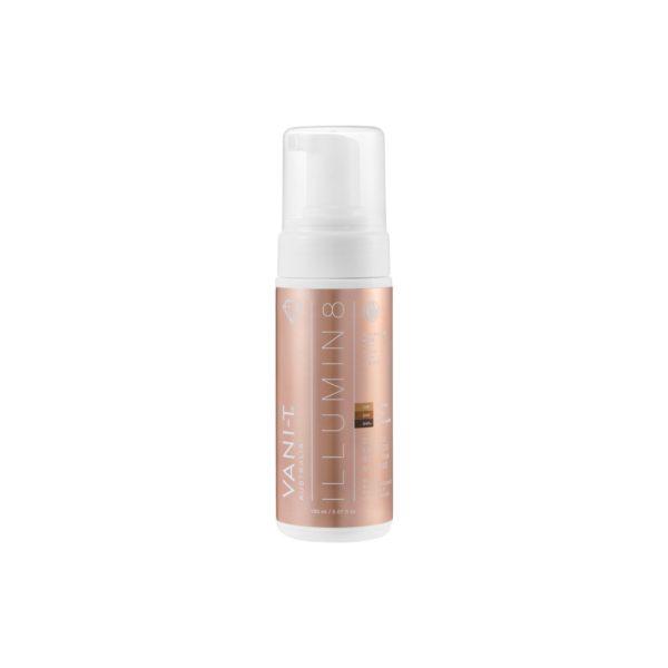 vani-t ilumin8 dry oil express self tan mousses kabuki hair