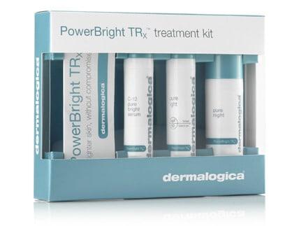 Dermalogica power bright TRx treatment Kit Kabuki Hair